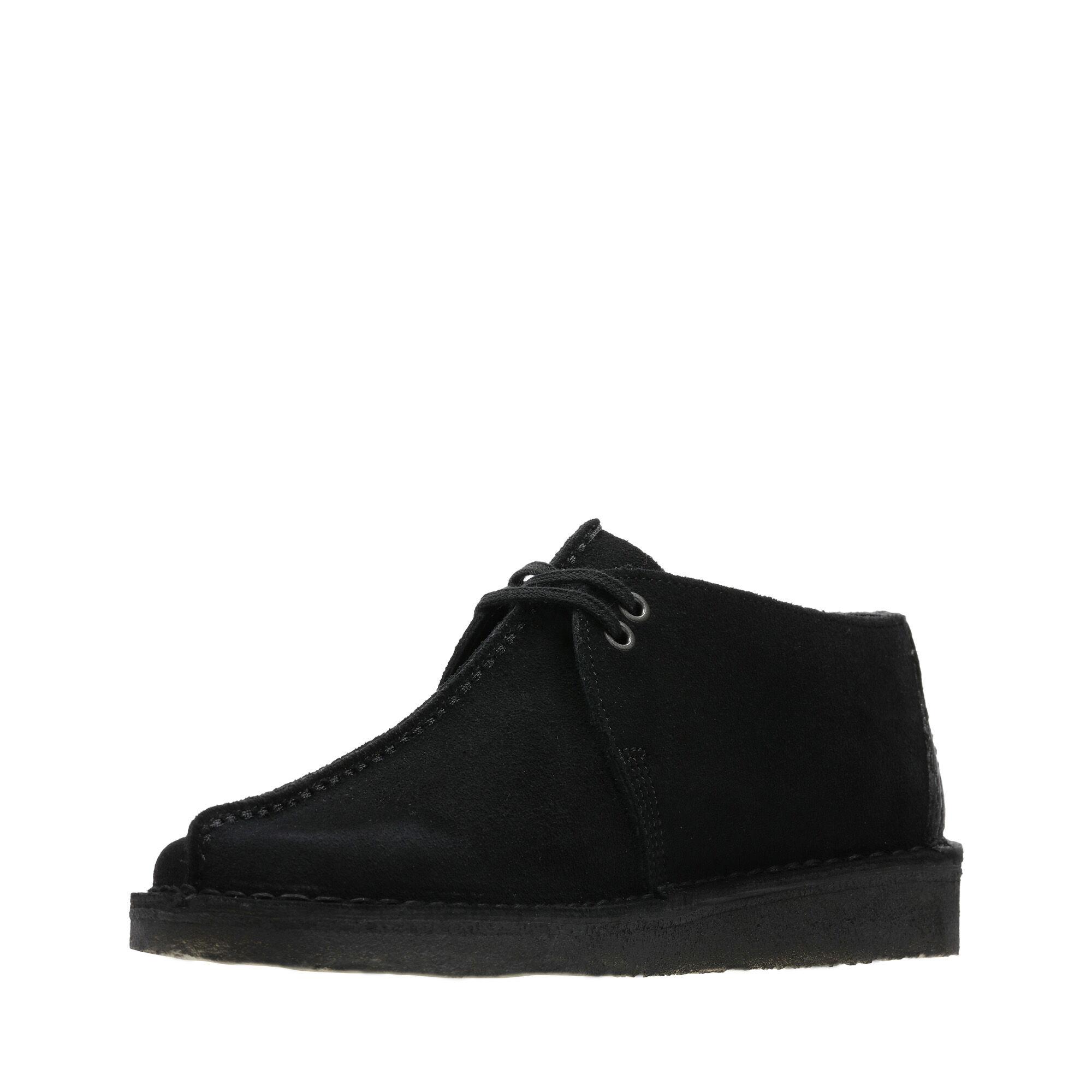 Black Suede Shoes - Desert Trek   Clarks
