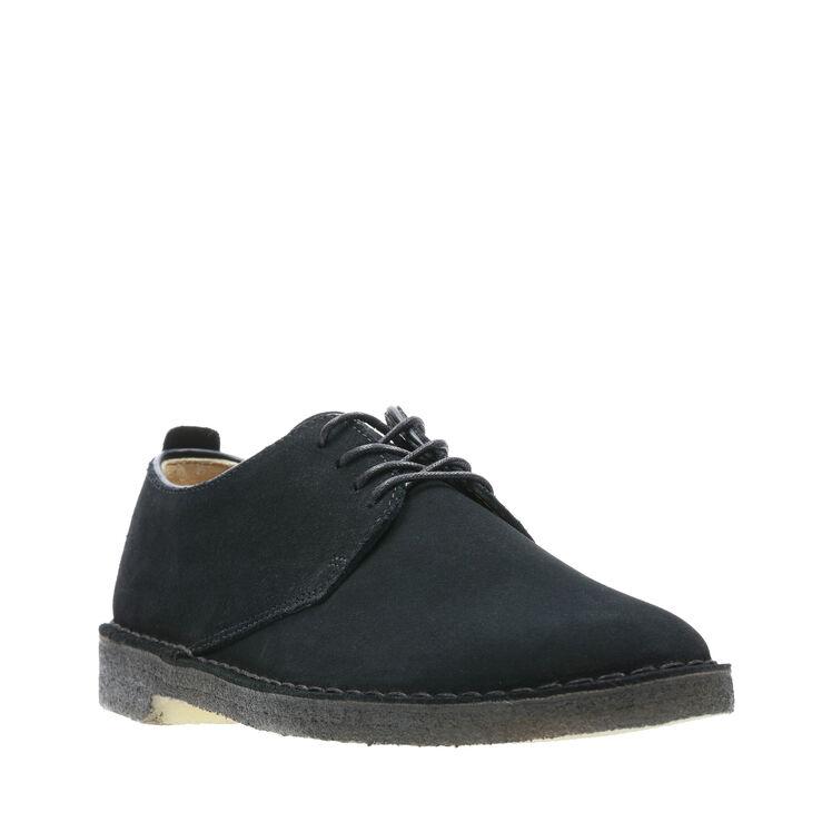 Black Suede 46 EU Noir Desert Boots Homme Clarks