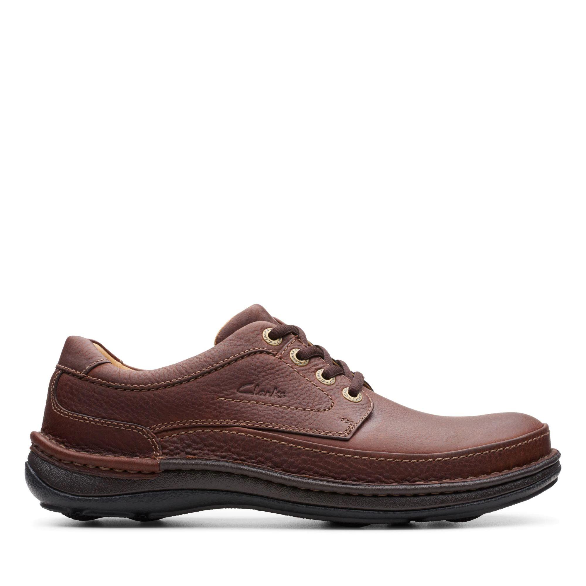 Mahogany Leather Shoes - Nature Three