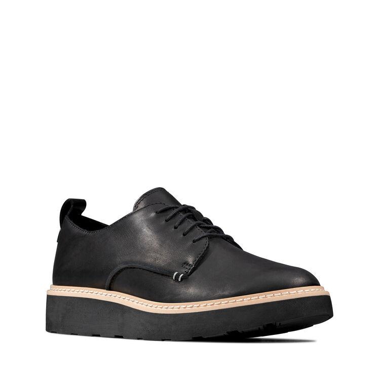 Señoras no estructurados por Clarks Zapatos Planos /'un tracto/'