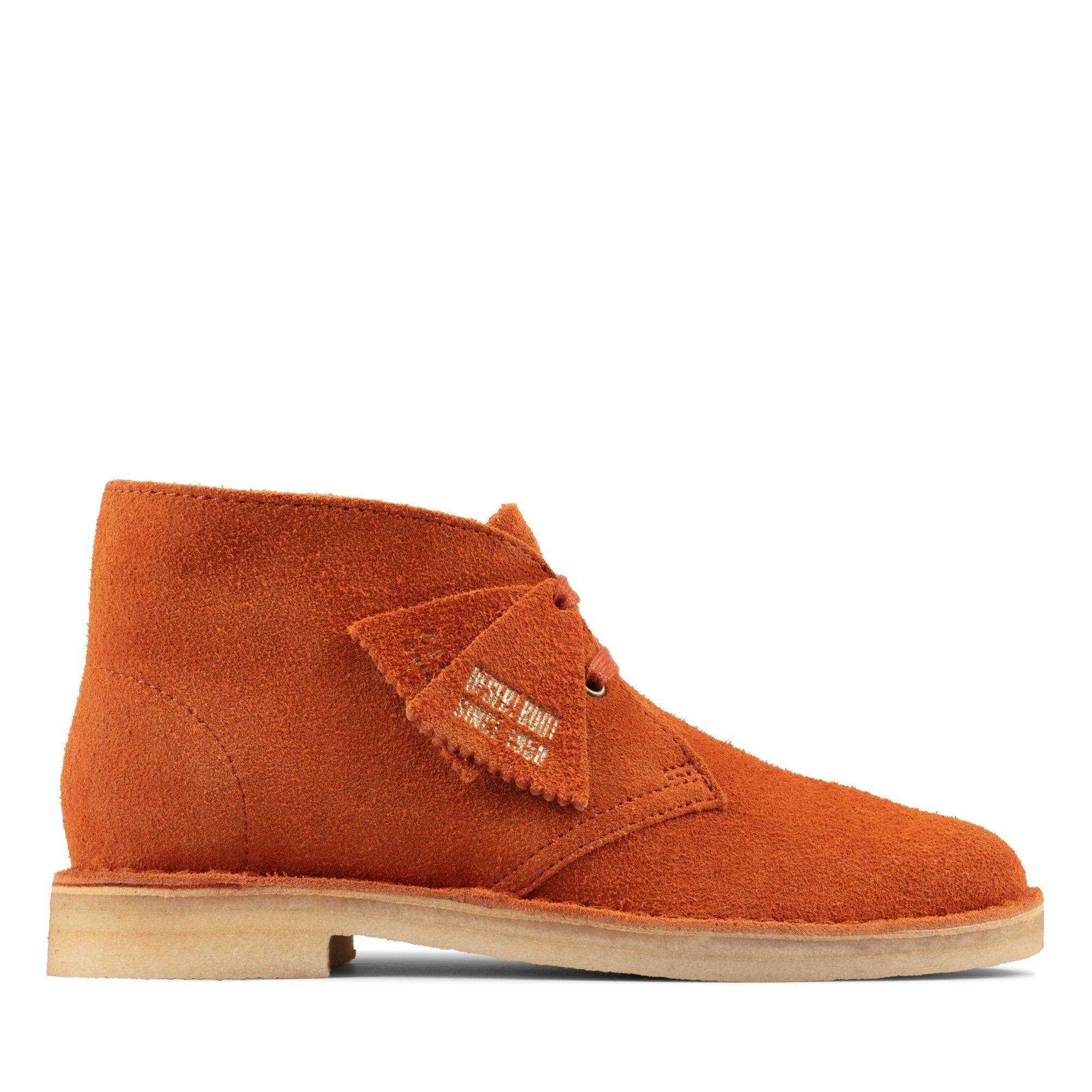 Men's Ginger Suede Desert Boots