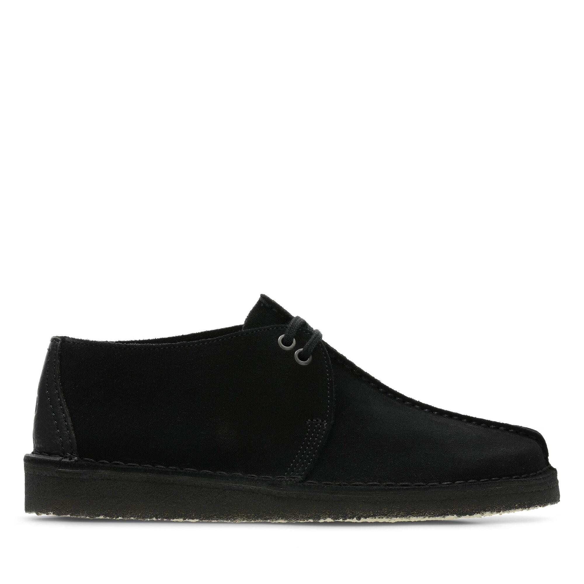 Black Suede Shoes - Desert Trek | Clarks