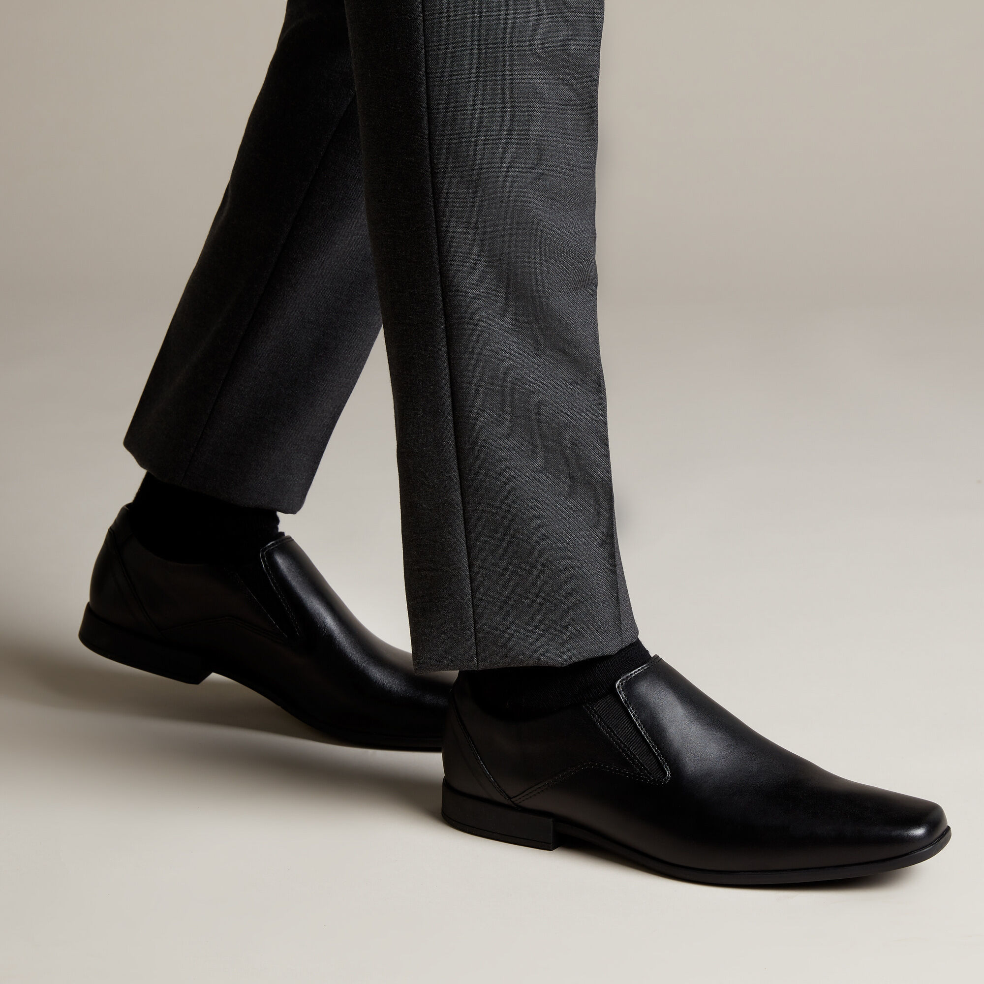 Leather Brogues - Glement Slip | Clarks