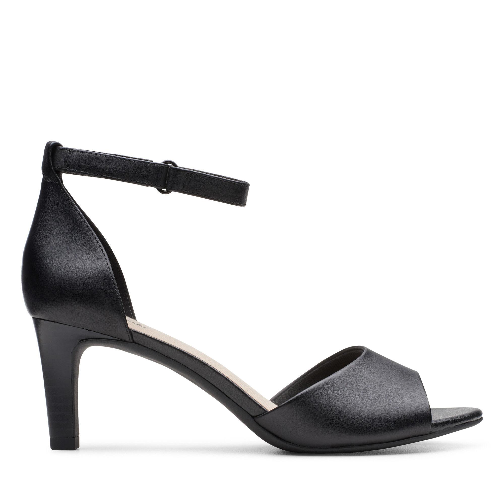 Women's Black Leather Pumps Alice Greta | Clarks
