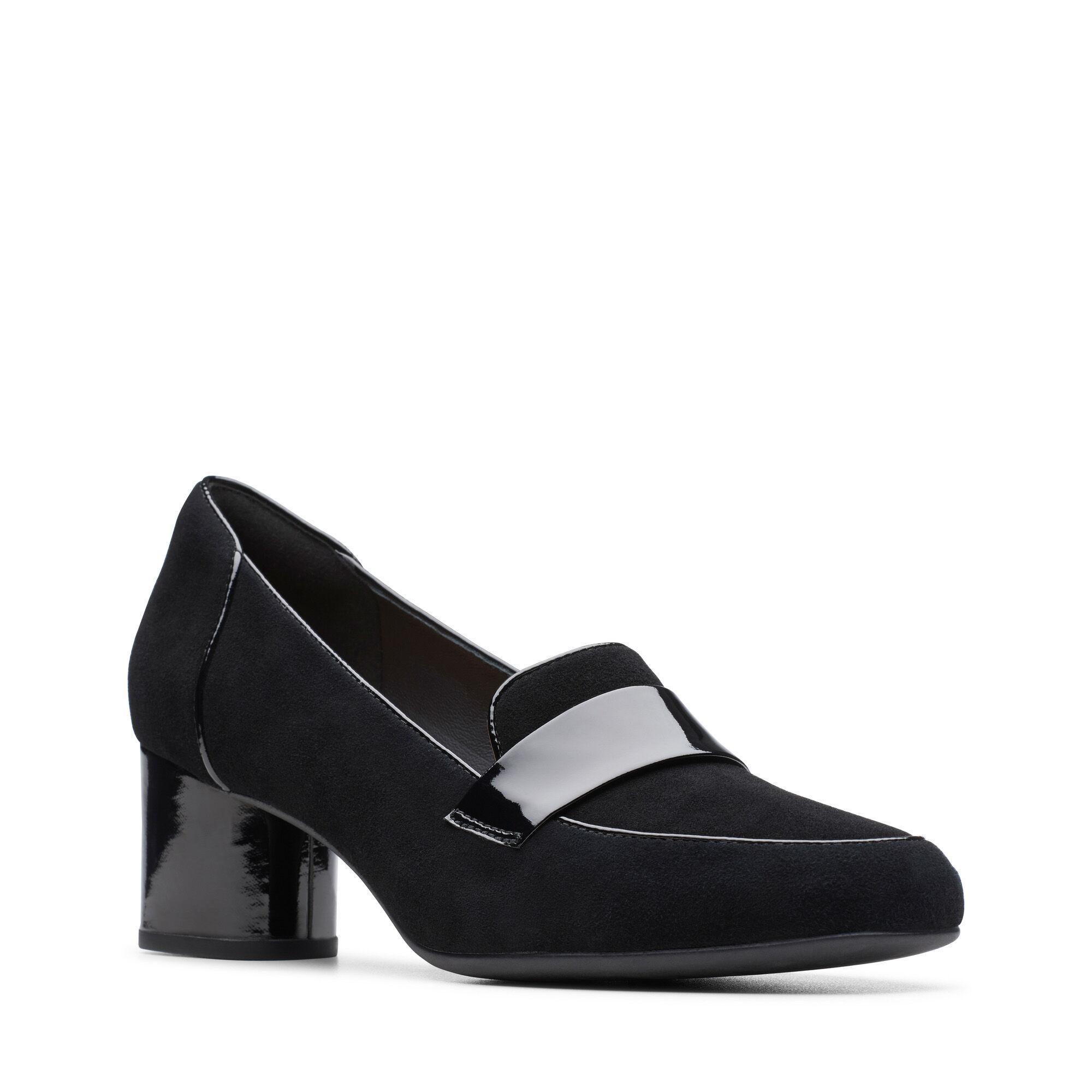 Un Cosmo Way Black Combination Clarks Shoes Official Site
