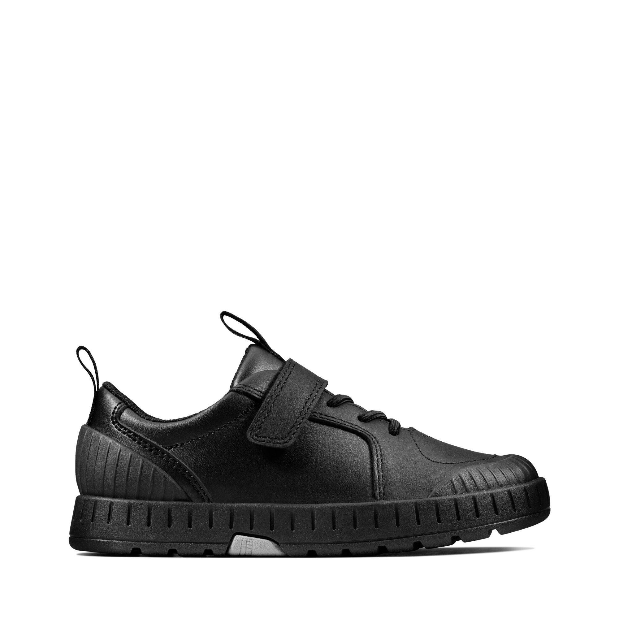 Black Leather Trainers - Apollo Step K