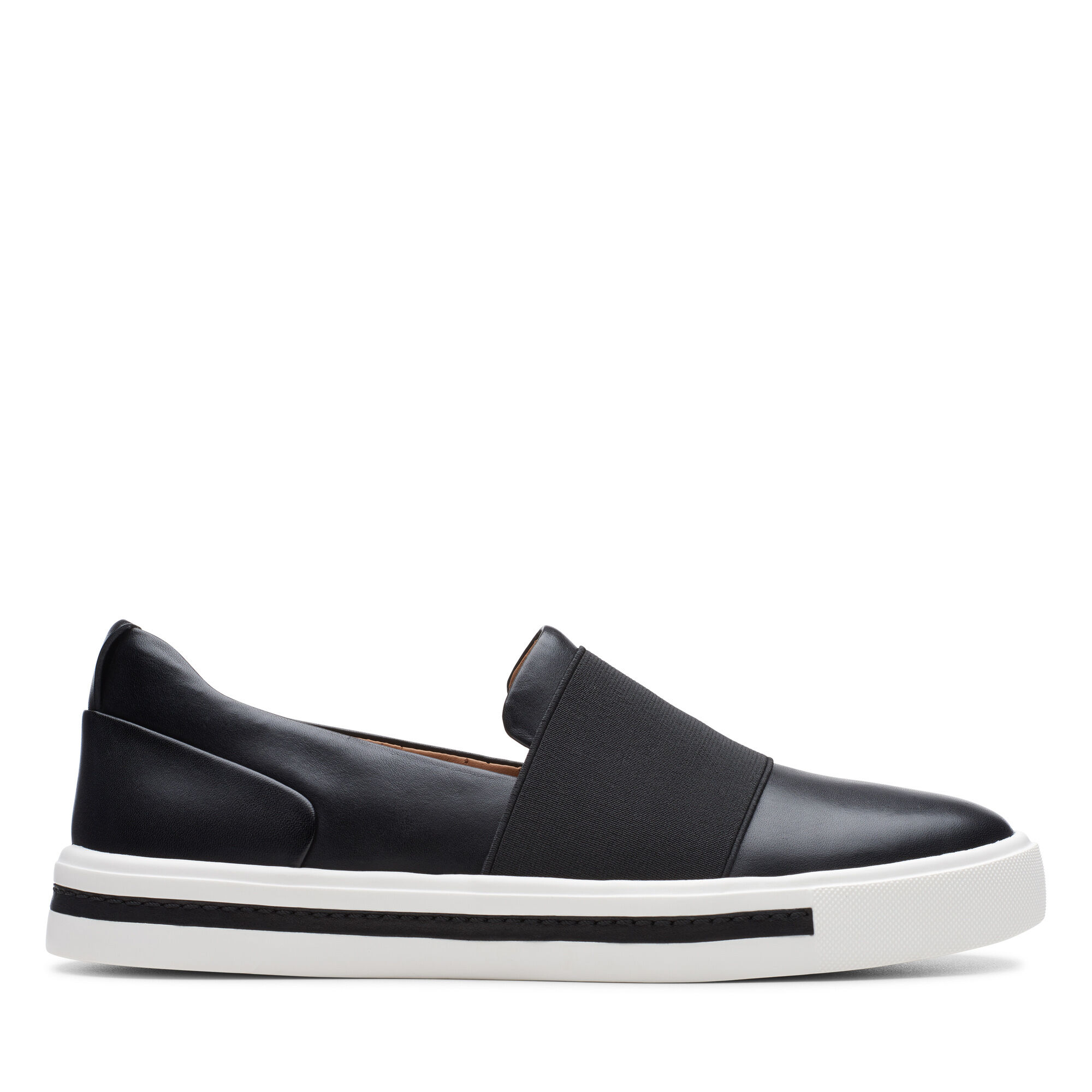Leather Sneakers - Un Maui Step   Clarks