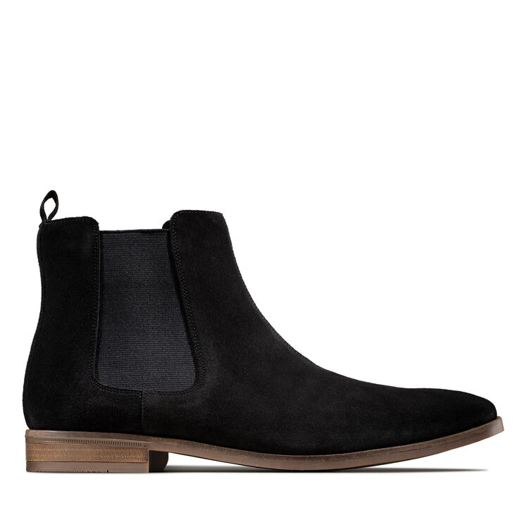 cheap the best attitude vast selection Men's Black Sde Chelsea Boots - Sford Top | Clarks