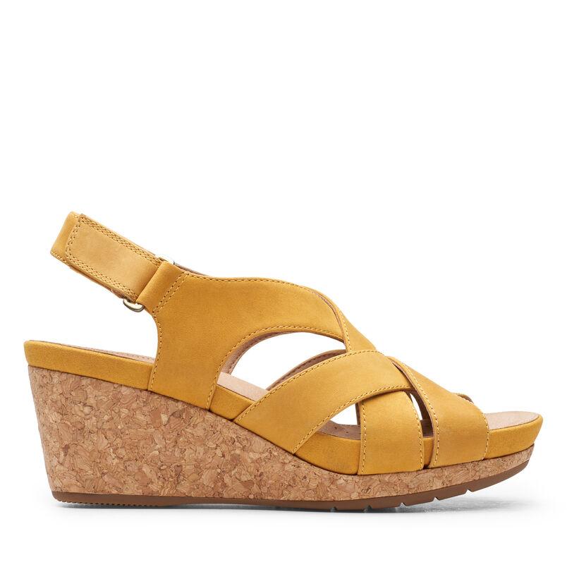 Chaussures Compensees Sandales A Talon Compense Clarks