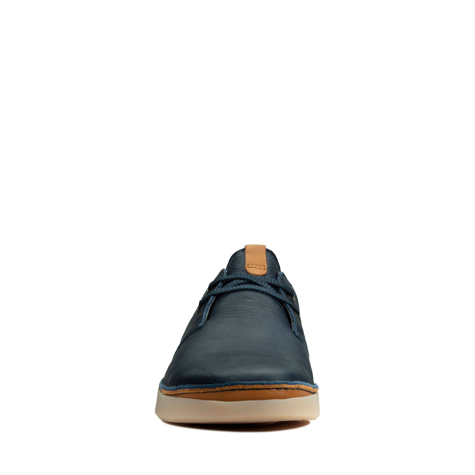 schuhes CLARKS Oakland Lace 261390427 Tan Leather