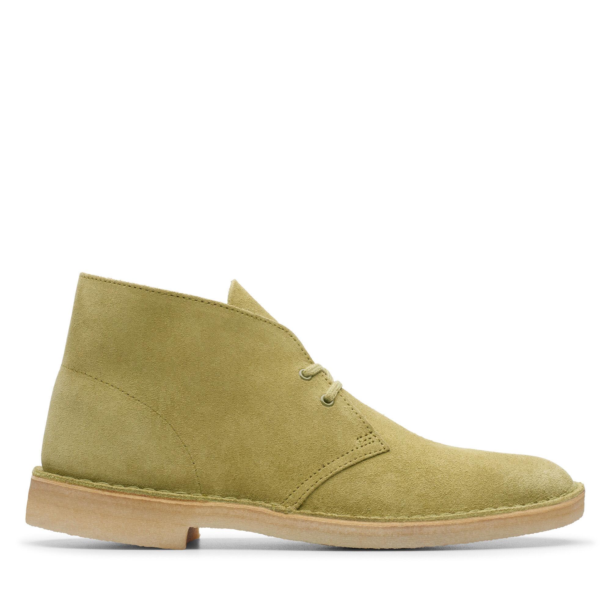 Men's Khaki Suede Desert Boots Desert Boot | Clarks