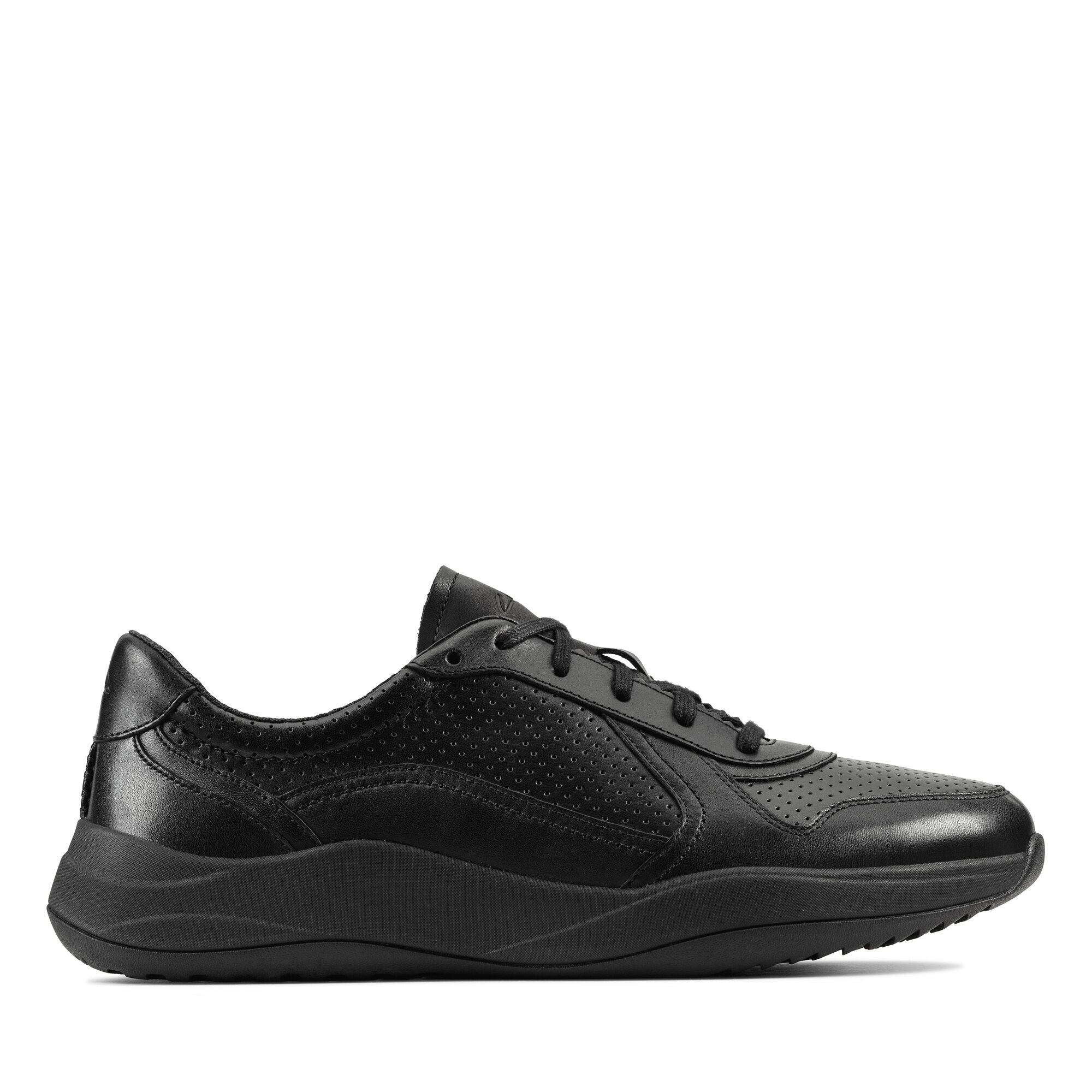 Leather Sneakers - Sift Speed   Clarks