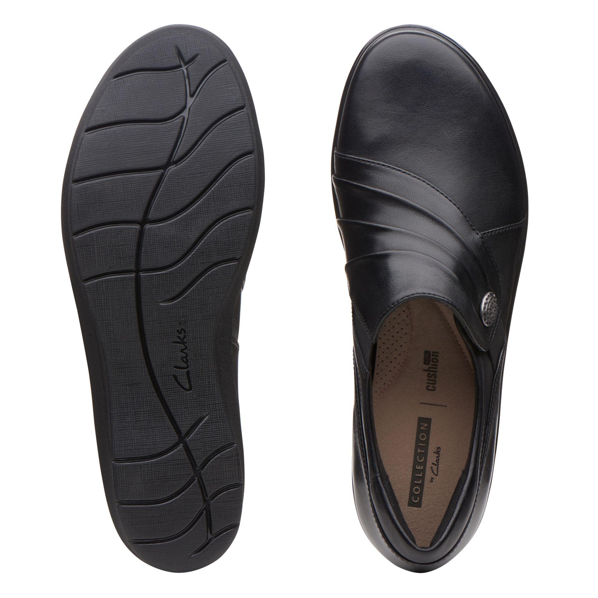 Black Flat Shoes - Hope Roxanne   Clarks